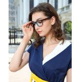 중국 제조자 새로운 디자인 형식 광학적인 아세테이트 안경알 프레임 여자