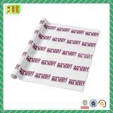 Embalaje del papel de tejido con insignia impresa