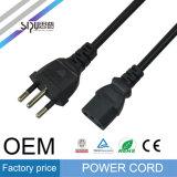 Sipu Brésil Câble d'alimentation secteur en gros 3-Pin Computer Power Cable