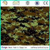 Ткань полиэфира 600d цифров напечатанная камуфлированием для мешков армии