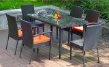 Outoor Furniture / Garden PE Móveis de Rattan Conjuntos de Bar para Móveis de Lazer