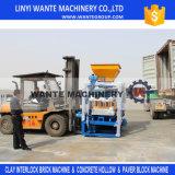Bloc creux concret de la colle semi automatique Qt4-24 faisant la machine