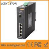 De beheerde Schakelaar van het Netwerk Ethernet van 4 Havens Gigabit Industriële