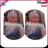 Fábrica de Venda Direta Cheap Metal Wholesale Sublimation Dog Tags