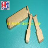 Тип вставки горячего сбывания UK Pin, латунь с плакировкой никеля (HS-UK-001)
