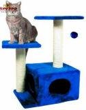 Il gatto naturale durevole di Sisial che graffia l'albero per il gatto gioca (KG0003)