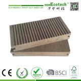 スリップ防止屋外WPCのDeckingの木プラスチック合成のDeckingの床台地の床