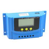 регулятор заряжателя 12V/24V 30AMP USB-5V/2A солнечный для солнечной системы Cy-K30A