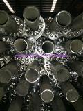 Tube d'ailette de bobine de spirale d'échangeurs de chaleur d'air