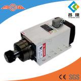 asse di rotazione di CNC raffreddato aria quadrata di 5.5kw 300Hz/600Hz 18000rpm Er32 con l'aletta