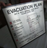 Répertoire des directions d'hôtel Infomation Safety Graphics Map Sign