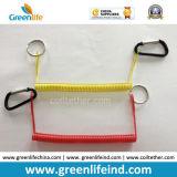 Haken gelber der Ring-Stahlkern-einziehbarer Einheit-W/Oval