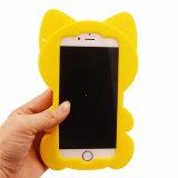 Caja de encargo del silicón del diseño avanzado para el iPhone 5