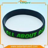 Wristband di gomma del silicone del mestiere di promozione