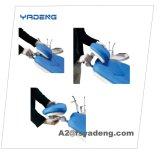 Unidad dental de la silla de la fuente con la bandeja del instrumento del LED