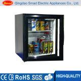 Mini refrigerador de vidro da absorção da porta, refrigerador da barra do hotel mini