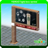 Ground Standing Outdoor Scrolling Billboard Light Box