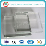 Super Clear Float Glass / Crystal Clear vidrio / vidrio bajo del hierro con el Certificado ISO