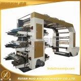 6 machines flexographiques de machine d'impression de la couleur PP/PE/LDPE Flexo