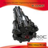 Trépanos de sondeo reversos de la circulación RC para los martillos de RC