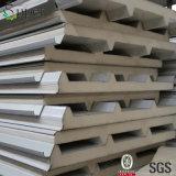 Comitato di parete del panino del poliuretano usato per l'alloggiamento della struttura d'acciaio