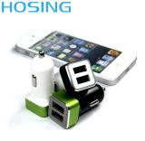 De mini Speciale Lader van de Auto USB van de Haven van het Ontwerp rechts-R16 Dubbele met 2.4A/3.1A voor Smaung /Huawei/Levono /Iphome/Xiaomi