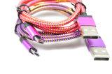 данным по заряжателя кабеля USB 1m/2m кабель USB Sync микро- Nylon для Android франтовского телефона для PC таблетки