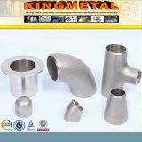instalaciones de tuberías de acero inconsútil de 90deg A403 F316-316L LR Sch40