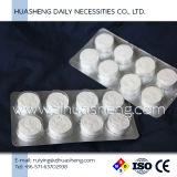 Essuie-main comprimés de tablette, biodégradables, module de feuille d'aluminium