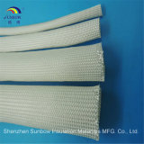 Gainer tressé d'isolation de fibre de verre anti-calorique de la température élevée 500c