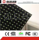 Alta visualización de LED al aire libre del color verde del brillo P10 de al aire libre