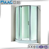 Perfil de aluminio para la bañera que resbala la puerta de la ducha