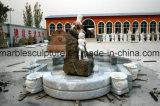 Het marmeren Marmeren Standbeeld van de Fontein van het Graniet van de Fontein