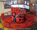 360 Grad drehen 3D 4D 5D 6D 7D 9d Auto-Säulengang-laufendes Auto-Spiel-Maschinen-Auto-Simulator