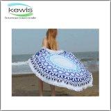 Реактивное напечатанное вокруг полотенца пляжа для подарка
