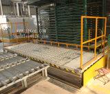 Maquinaria de levantamento hidráulica estacionária com tabela da esfera