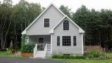 Casa prefabricada del pequeño de la granja chalet prefabricado acogedor de la casa