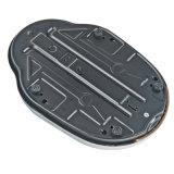 Escala mecánica del hogar con la cubierta plateada cromo del metal