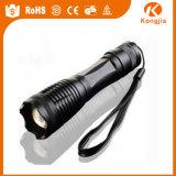 강력한 LED 라이트 전술 X800 충전식 손전등 토치