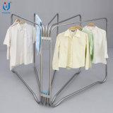 Konkurrierende vertikale Kleidung-Aufhängungs-Zahnstange für Innen- und im Freien