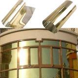Double film solaire dégrossi de teinte de guichet argenté de construction de 20% Vlt