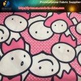 320t Polyester Pongee Cartoon Transitoire Tissu d'impression pour vêtements pour enfants