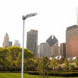 China-super helle integrierte Solarstraßenlaterne-Straßen-Lampe im Freien