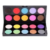 Maquillaje de color romántico Shinning sombra de ojos 20 colores paleta Mezcla de brillo Matte