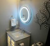 Miroir de lumière de vanité de Fogless lumineux par DEL de salle de bains pour nous hôtel