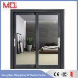 Wohnungs-Tür-schiebendes Glas-Aluminiumtür
