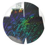 Película de transferência com teste padrão da lente