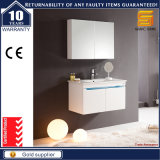 Unità verniciata bianca di vendita calda di vanità della stanza da bagno LED di lucentezza