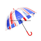 Transparent Rainbow Color Umbrella, Environment-Friendly Material