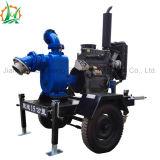 Bomba diesel de desecación del acoplado de las aguas residuales del oscurecimiento del uno mismo de la eficacia alta